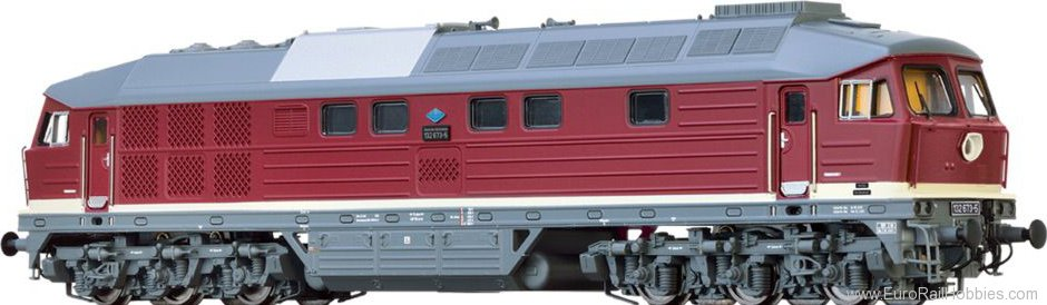 Brawa 41436 Diesel Locomotive 132 DR (MFX/DCC Digital Ext