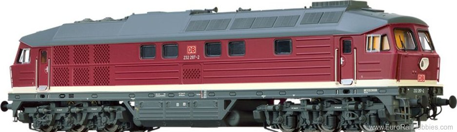 Brawa 41446 Diesel Locomotive 232 DB AG (DC Analog Basic
