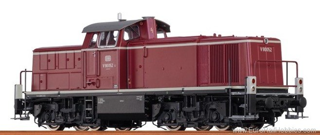 Brawa 41502 Diesel Locomotive V 90 DB (AC Digital Basic P