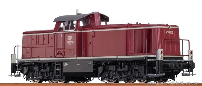 Brawa 41504 Diesel Locomotive V 90 DB (AC Digital Extra w