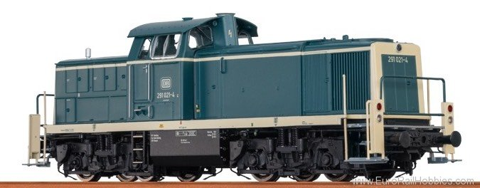 Brawa 41507 Diesel Locomotive BR 291 DB (AC Digital Basic
