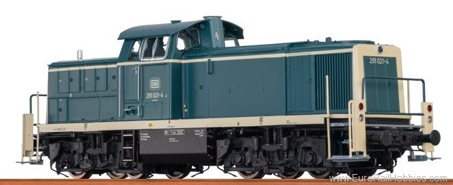 Brawa 41509 Diesel Locomotive BR 291 DB (AC Digital Extra