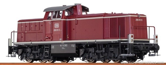 Brawa 41525 Diesel Locomotive BR 290 DB (AC Digital Extra