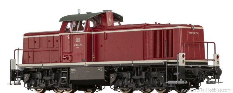 Brawa 41548 Diesel Locomotive BR V90 DB (Digital Extra w.