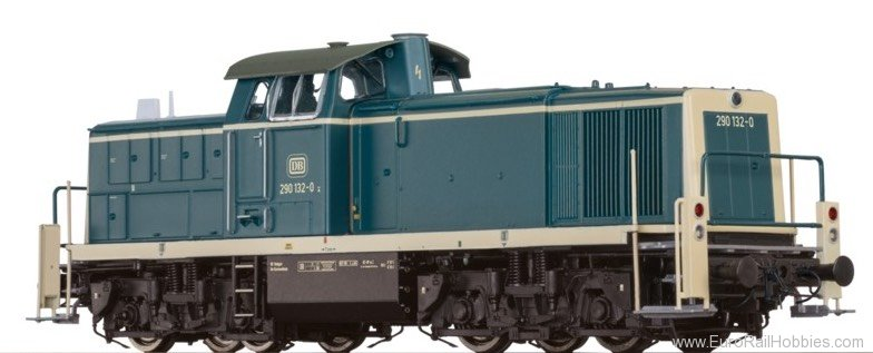 Brawa 41555 Diesel Locomotive BR 290 DB (AC Digital Extra