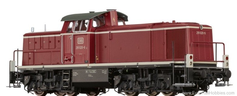 Brawa 41559 Diesel Locomotive BR 291 DB (AC Digital Basic