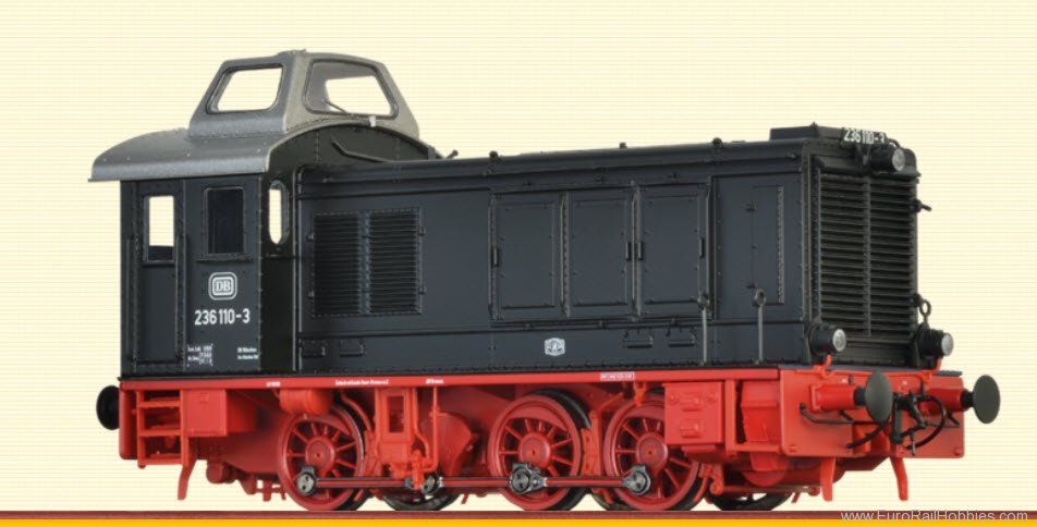 Brawa 41608 Diesel Locomotive BR 236 DB (DC Analog Basic