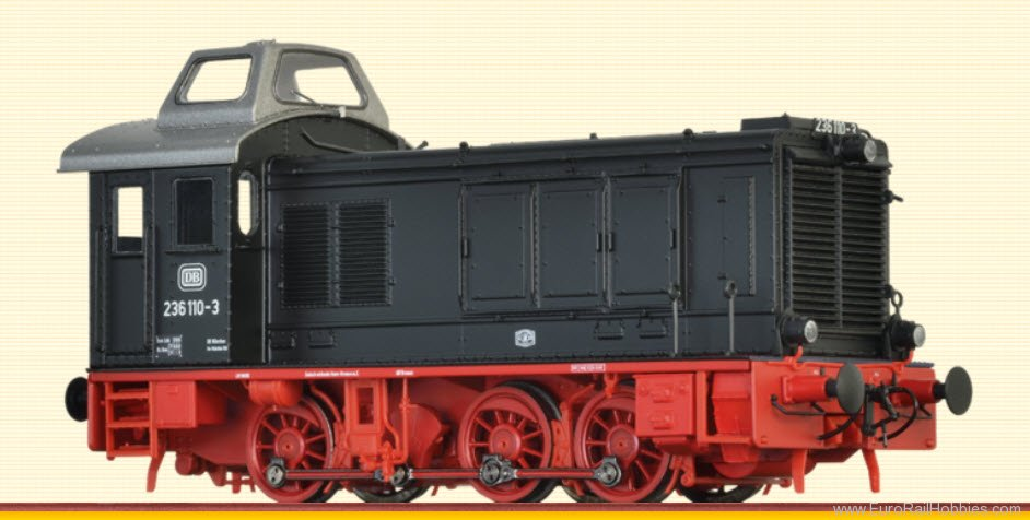 Brawa 41610 Diesel Locomotive BR 236 DB (DC Digital Extra