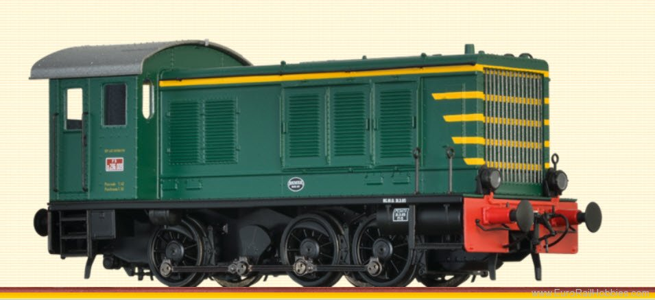 Brawa 41616 Diesel Locomotive WR 236 FS (DC Analog Basic