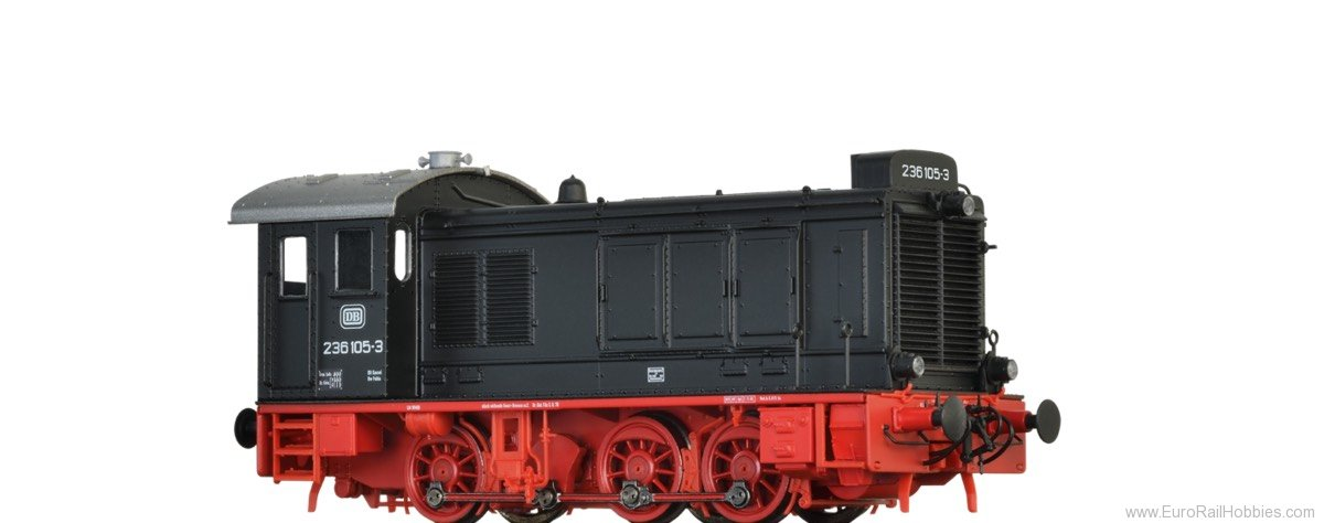 Brawa 41646 Diesel Locomotive 236 DB (DC Analog Basic Plu