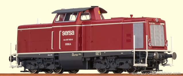 Brawa 42830 Diesel Locomotive V 100 SERSA (Digital Premiu