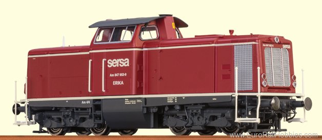 Brawa 42831 Diesel Locomotive V 100 SERSA (AC Digital Pre