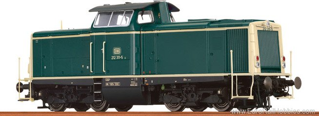 Brawa 42845 Diesel Locomotive BR 212 DB (AC Digital Basic