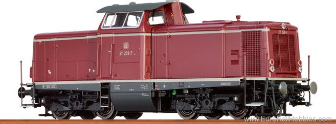 Brawa 42851 Diesel Locomotive BR 211 DB (AC Digital Extra
