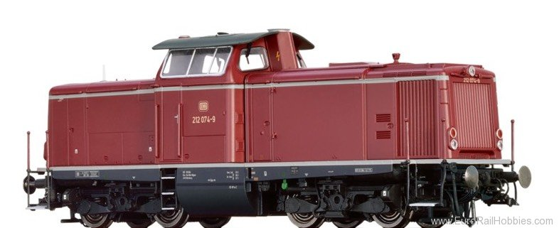 Brawa 42862 Diesel Locomotive 212 DB (Digital Extra w. So
