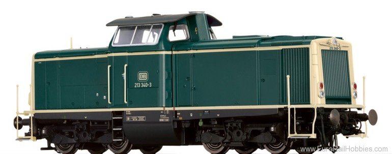 Brawa 42866 Diesel Locomotive 213 DB (Digital Extra w. So