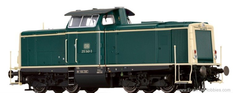 Brawa 42867 Diesel Locomotive 213 DB (AC Digital Extra w.