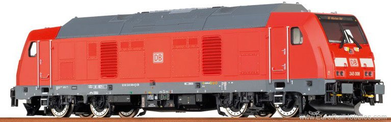 Brawa 42908 TRAXX-Diesel Locomotive BR 245 DB AG (Digital