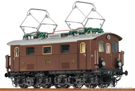 Brawa 43072 Electric Locomotive E 73 DRG (DCC w/Sound) (F