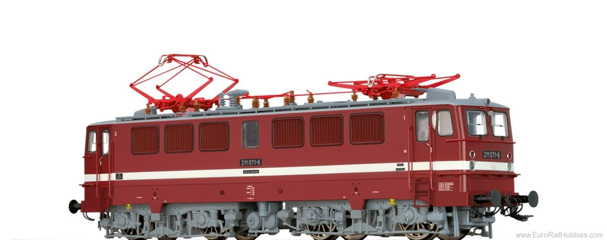 Brawa 43108 Electric Locomotive BR 211 DR (DC Digital Ext