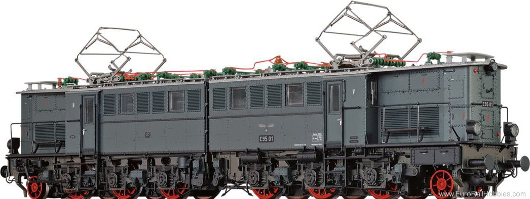 Brawa 43160 Electric Locomotive BR E95 DRB (DC Digital Ex