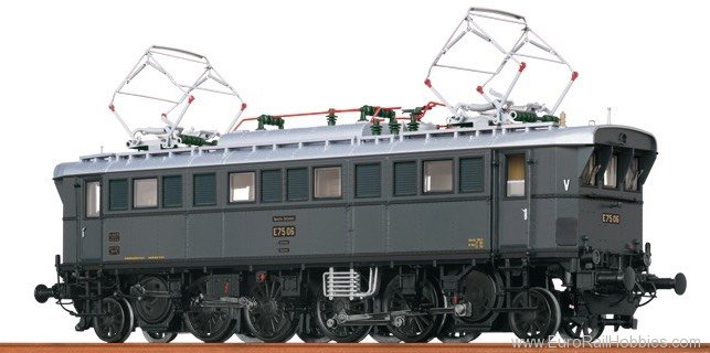 Brawa 43201 Electric Locomotive E 75 DRG (AC Digital Basi