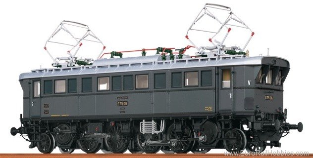 Brawa 43202 Electric Locomotive E 75 DRG (Digital Extra w