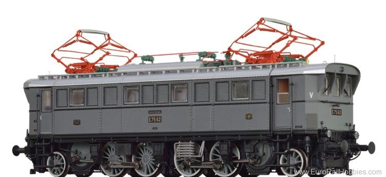 Brawa 43229 Electric Locomotive BR E75 DRG (AC Digital Ba