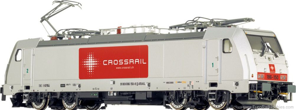 Brawa 43804 TRAXX Electric Locomotive BR 186 CROSSRAIL (D