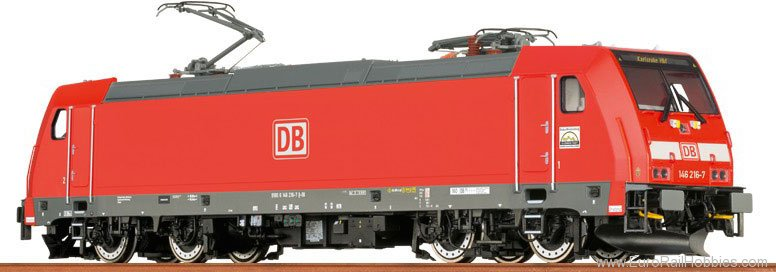 Brawa 43918 TRAXX Electric Locomotive BR 146.2 DB AG (DC