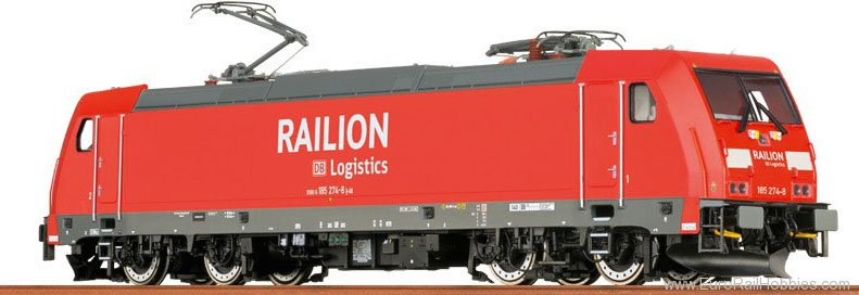 Brawa 43925 TRAXX Electric Locomotive BR 185.2 DB AG (AC