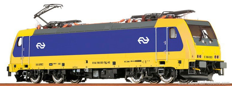 Brawa 43942 TRAXX Electric Locomotive BR 186 NS (DC Analo