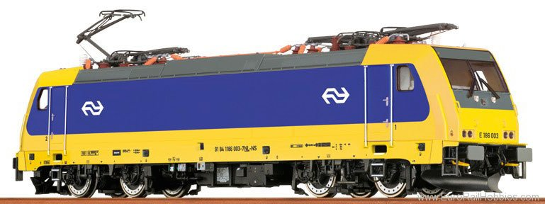 Brawa 43943 TRAXX Electric Locomotive BR 186 NS (AC Digit