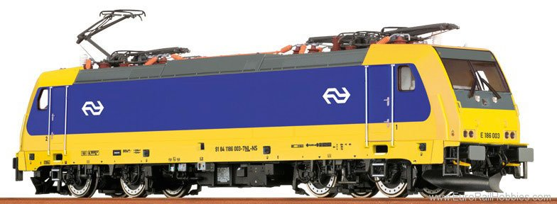 Brawa 43944 TRAXX Electric Locomotive BR 186 NS (Digital