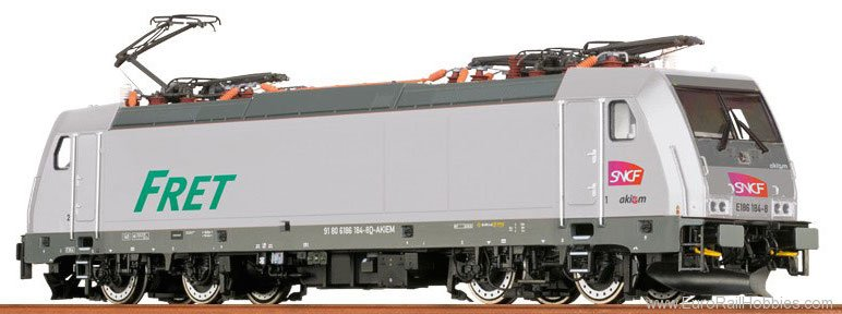 Brawa 43957 TRAXX Electric Locomotive BR 186 SNCF Akiem (