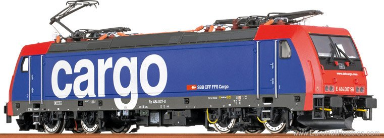 Brawa 43984 TRAXX Electric Locomotive BR 484 SBB Cargo (D