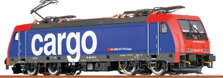 Brawa 43985 TRAXX Electric Locomotive BR 484 SBB Cargo (A