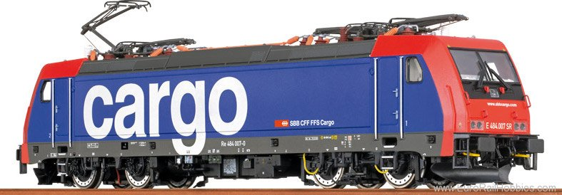 Brawa 43986 TRAXX Electric Locomotive BR 484 SBB Cargo (D