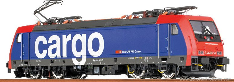 Brawa 43987 TRAXX Electric Locomotive BR 484 SBB Cargo (A
