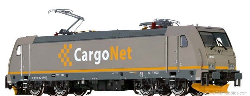 Brawa 43991 TRAXX Electric Locomotive CE 119 CargoNet (AC