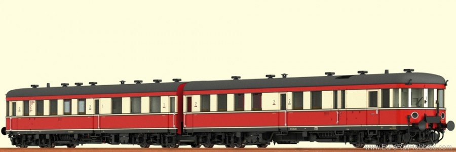 Brawa 44191 Rail Car Stettin VT 137 DR (AC Digital Premiu