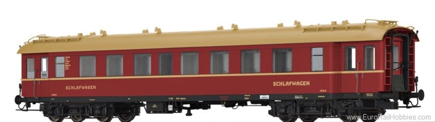 Brawa 46168 Sleeping Car C4üPWL DSG