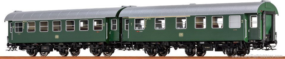 Brawa 46304 Passenger Coach AB3yg and B3yg DB, set of 2