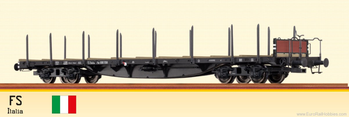 Brawa 47206 Rail Car SSlma 44 FS