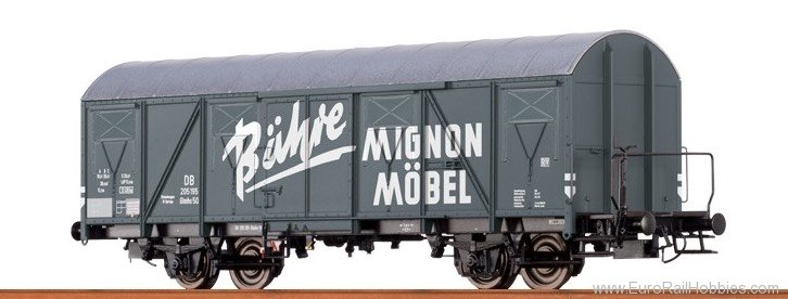Brawa 47251 Covered Freight Car Glmhs DB