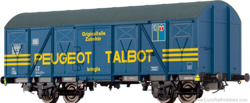 "Brawa 47267 Covered Freight Car Gos-uv 253 ""Peugeot"