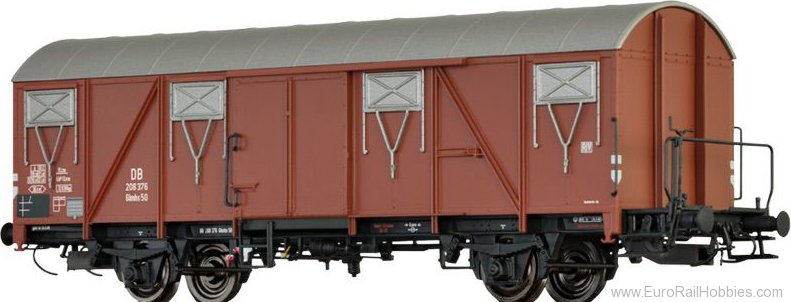 Brawa 47278 Covered Freight Car Glmhs 50 DB