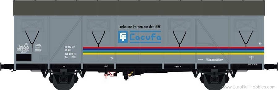 Brawa 47286 Covered Freight Car Gos [1400] Lacufa DR