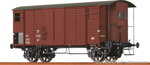 Brawa 47837 Covered Freight Car K2 MThB