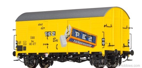 Brawa 47941 Covered Freight Car Gms PEZ OBB
